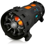 Pyle Street Blaster X High-Powered Rugged & Portable BoomBox Speaker System with Bluetooth & NFC Wireless Streaming PBMSPG200