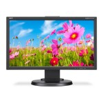 "20"" Eco-Friendly Widescreen Desktop Monitor with IPS Panel - Black"