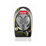 Maxell FITNESS EARHOOKS  SILVER 199635