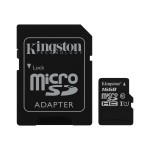 16GB microSDHC Class 10 UHS-I 45MB/s Read Card + SD Adapter