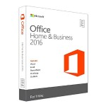Microsoft Office for Mac Home and Business 2016 - Electronic Software Download (ESD) - Subscription-Free - Single User - 1 License W6F-00465-ESD
