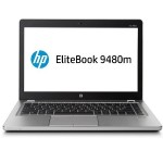 "HP Inc. Smart buy EliteBook Folio 9480m Intel Core i7-4600U Dual-Core 2.10GHz Notebook PC - 4GB RAM, 500GB HDD, 14"" HD LED, Gigabit  Ethernet, 802.11a/b/g/n/ac, Bluetooth, Webcam, Smart card Reader, TPM, Fingerprint Reader, 4-cell 52WHr Li-ion P3E07UT#ABA"