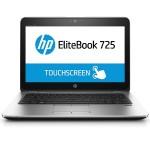 """EliteBook 725 G3 - A series A10 PRO-8700B / 1.8 GHz - Win 10 Pro 64-bit - 8 GB RAM - 128 GB SSD - 12.5"""" touchscreen 1920 x 1080 ( Full HD ) - Radeon R6 - NFC, 802.11ac, Bluetooth"""