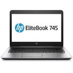 """EliteBook 745 G3 - A8 PRO-8600B / 1.6 GHz - Win 7 Pro 64-bit - 4 GB RAM - 500 GB HDD - 14"""" TN 1366 x 768 (HD) - Radeon R6 - Wi-Fi, NFC - with  Elite Support"""