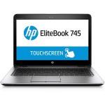 """EliteBook 745 G3 - A series A12 PRO-8800B / 2.1 GHz - Win 10 Pro 64-bit - 8 GB RAM - 256 GB SSD Self-Encrypting Drive - 14"""" TN 1920 x 1080 ( Full HD ) - Radeon R7 - NFC, 802.11ac"""