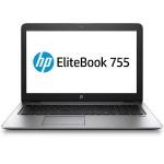"""EliteBook 755 G3 - A series A12 PRO-8800B / 2.1 GHz - Win 7 Pro 64-bit - 8 GB RAM - 256 GB SSD Self Encrypting Drive - no ODD - 15.6"""" 1920 x 1080 ( Full HD ) - Radeon R7 - NFC, 802.11ac"""