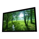 Elara Fixed-Frame Screens - Projection screen - wall mountable - 120 in (120.1 in) - 16:9 - Cinema White - ultra black