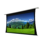 Titan Tab-Tensioned Motorized Projector Screen - Projection screen - in-ceiling mountable, wall mountable - motorized - 110 V - 120 in (120.1 in) - 16:9 - White - white