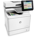 LaserJet Enterprise MFP M577f - Multifunction printer - color - laser - Legal (8.5 in x 14 in) (original) - A4/Legal (media) - up to 40 ppm (copying) - up to 40 ppm (printing) - 650 sheets - 33.6 Kbps - USB 2.0, Gigabit LAN, USB 2.0 host