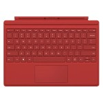 Surface Pro 4 - Type Cover - Commercial (Red)