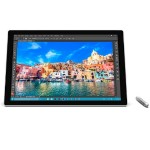 "Surface Pro 4 - Education Bundle - tablet - with detachable keyboard - Core i7 6650U / 2.2 GHz - Win 10 Pro 64-bit - 8 GB RAM - 256 GB SSD - 12.3"" touchscreen 2736 x 1824 - Iris Graphics - Wi-Fi - silver - kbd: English - North America - academic - with Su"