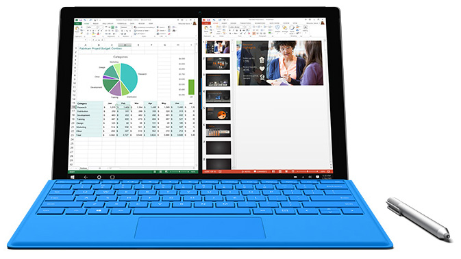 Microsoft Surface Pro 4 - Tablet - Core i5 6300U / 2 4 GHz - Win 10 Pro  64-bit - 16 GB RAM - 512 GB SSD - 12 3