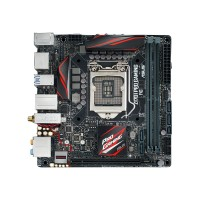 ASUS Z170I PRO GAMING - Motherboard - mini ITX - LGA1151 Socket - Z170 - USB 3.0, USB 3.1 - Bluetooth, Gigabit LAN, Wi-Fi - onboard graphics (CPU required) - HD Audio (8-channel) Z170I PRO GAMING