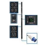 PDU Metered Vertical 7.4w 230V 8 C19 40 C13 IEC 309 32A 0U TAA