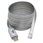 USB to RJ45 Cisco Serial Roll over Cable USB Type A RJ45 M/M 6 ft