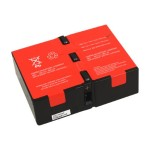 ABC RBC124 - UPS battery - 2 x lead acid  9 Ah - for P/N: BR1200G-FR, BR1200GI, BR1300G, BR1500G, BR1500G-FR, BR1500GI, SMC1000-2U, SMC1000I-2U