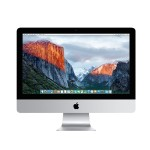 "21.5"" iMac Quad-Core Intel Core i5 2.8GHz, 8GB RAM, 256GB Flash Storage, Intel Iris Pro Graphics 6200, 2 Thunderbolt ports, 802.11ac Wi-Fi, Apple Numeric Keyboard, Apple Mouse, Mac OS X El Capitan - Late 2015"