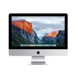 "21.5"" iMac with Retina 4K display, Quad-Core Intel Core i5 3.1GHz, 8GB RAM, 1TB SATA hard drive, Intel Iris Pro Graphics 6200, Two Thunderbolt 2 ports, 802.11ac Wi-Fi, Apple Numeric Keyboard, Magic Trackpad 2 - Late 2015"