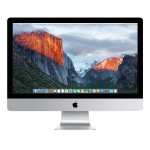 """27"""" iMac with Retina 5K display, Quad-Core Intel Core i5 3.3GHz, 16GB RAM, 256GB Flash Storage, AMD Radeon R9 M395 with 2GB of GDDR5 memory, Two Thunderbolt 2 ports, 802.11ac Wi-Fi, Apple Numeric Keyboard, Apple Wired Mouse - Late 2015"""