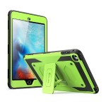 iPad Mini 4 Armorbox Full Body Kickstand Case with Screen Protector - Green