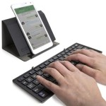 Plugable Bluetooth Folding Keyboard and Case for Android, iOS, Windows