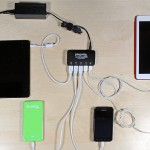 5-Port 40 Watt USB Smart Charger for iPhone, iPad, Smartphones and Tablets