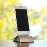 iDockAll Lightning - Silver - The Ultimate Docking Solution for iPhones & iPads