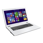 "Acer Aspire E 17 E5-772-P756 - Pentium 3556U / 1.7 GHz - Win 10 Home 64-bit - 6 GB RAM - 1 TB HDD - DVD SuperMulti - 17.3"" 1600 x 900 ( HD+ ) - HD Graphics - 802.11ac - black, white NX.MVFAA.002"