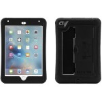 Griffin Survivor Slim - Protective case for tablet - rugged - silicone, polycarbonate - black/black - for Apple iPad mini 4 GB41365