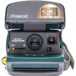 Impossible Polaroid 600 Camera – Round - Green PRD_2875