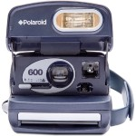 Polaroid 600 Camera – Round - Blue