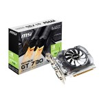GeForce GT 730 DirectX 12 4GB DDR3 PCI Express 2.0 x16 HDCP Ready ATX Video Card