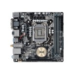 H170I-PLUS D3 - Motherboard - mini ITX - LGA1151 Socket - H170 - USB 3.0 - Bluetooth, Gigabit LAN, Wi-Fi - onboard graphics (CPU required) - HD Audio (8-channel)