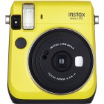 Instax Mini 70 - Instant camera - lens: 60 mm - canary yellow