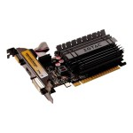 GeForce GT 730 - ZONE Edition - graphics card - GF GT 730 - 2 GB DDR3 - PCIe 2.0 x16 low profile - DVI, D-Sub, HDMI - fanless