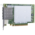 Qlogic QLE2694U-SR-CK - Host bus adapter - PCIe 3.0 x16 - 16Gb Fibre Channel x 4 QLE2694U-SR-CK