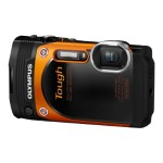 Stylus Tough TG-860 - Digital camera - High Definition - 60 fps - compact - 16.0 MP - 5 x optical zoom - Wi-Fi - underwater up to 45 ft - orange