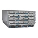 Cisco UCS 5108 Blade Server Chassis SmartPlay Select - Rack-mountable - 6U - up to 8 blades - power supply - hot-plug 2500 Watt - with 2x Fabric Extender  UCS 2208XP UCS-SPM-5108-AC2