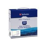 White - 2.2 lbs - ABS filament ( 3D )