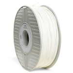 White - 2.2 lbs - PLA filament (3D) - for bq Witbox; MakerBot Replicator 2