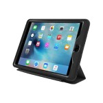 LifeProof NÜÜD COVER + STAND - Flip cover for tablet - blacktop - for Apple iPad Air 2