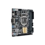 ASUS H110I-PLUS D3/CSM - Motherboard - mini ITX - LGA1151 Socket - H110 - USB 3.0 - Gigabit LAN - onboard graphics (CPU required) - HD Audio (8-channel) H110I-PLUS D3/CSM