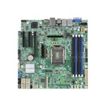 Intel Server Board S1200SPL - Motherboard - micro ATX - LGA1151 Socket - C236 - USB 3.0 - 2 x Gigabit LAN - onboard graphics - DISTI DBS1200SPL