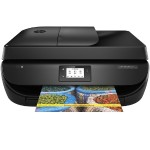 Officejet 4650 All-in-One - Multifunction printer - color - ink-jet - Letter A Size (8.5 in x 11 in)/A4 (8.25 in x 11.7 in) (original) - A4/Legal (media) - up to 7.5 ppm (copying) - up to 20 ppm (printing) - 100 sheets - 33.6 Kbps - USB 2.0, Wi-Fi(n)