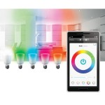 Smart Bluetooth LED Color Bulb 7W for iPhone, iPad & Android - A19-E26