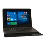 "Visual Land Premier 9 - Tablet - with keyboard dock - Atom 1.33 GHz - Windows 10 - 1 GB RAM - 32 GB SSD - 8.9"" IPS touchscreen 1280 x 800 - HD Graphics - black ME9W32GBBLK"