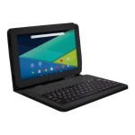 "Visual Land PRESTIGE Elite 10QL - Tablet - Android 5.0 (Lollipop) - 16 GB - 10.1"" (1024 x 600) - microSD slot - black - with Keyboard Case ME10QL16KCBLK"
