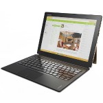"""IdeaPad Miix 700-12ISK 80QL Intel Core M5 6Y54 Dual-Core 1.10GHz Tablet with Folio Keyboard - 4GB RAM, 128GB SSD, 12"""" IPS Touch FHD+, 802.11ac, Bluetooth, Front and Rear Cameras, 4-cell Li-Polymer"""