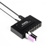 USB3-HUB7BC - Hub - 7 x SuperSpeed USB 3.0 - desktop