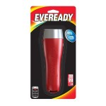 Eveready General Purpose LED Flashlight + 2D Batteries - Red